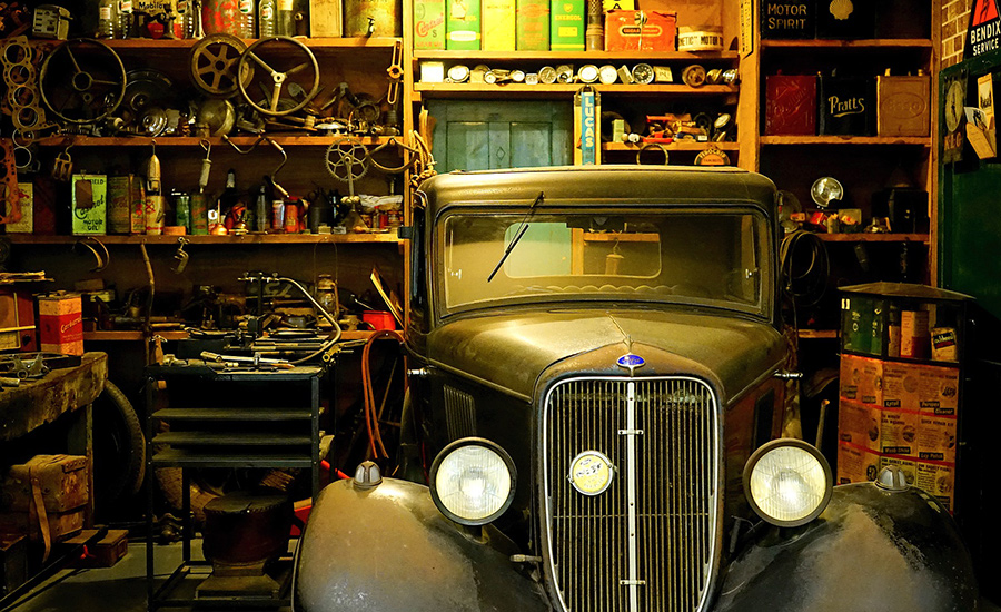 Garageportsmotor förenklar vardagen